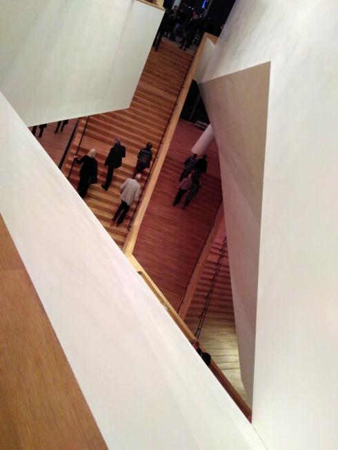 Ansicht aus dem Treppenhaus Elbphilharmonie