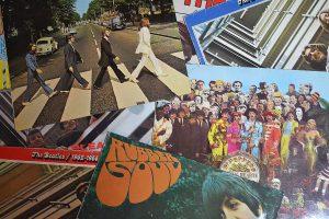 alte Beatles-Schallplatten