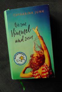 """Cover des Buchs """"Bis zum Himmel und zurück"""""""