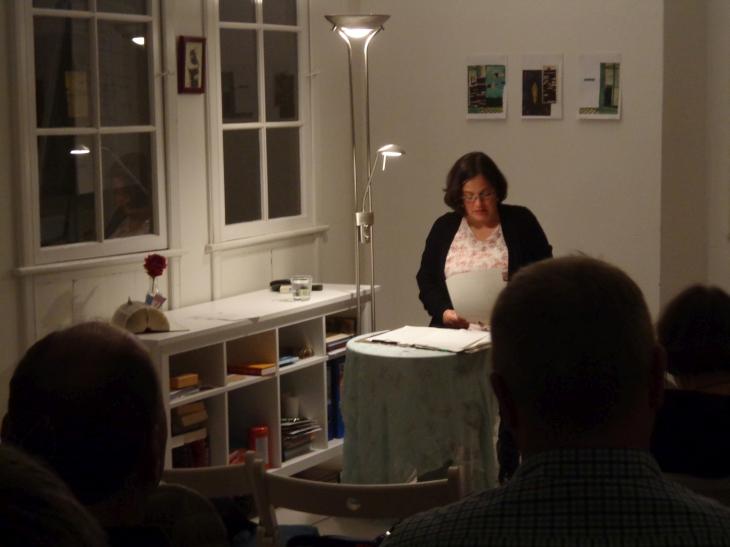 Katja liest in der Wortwerft